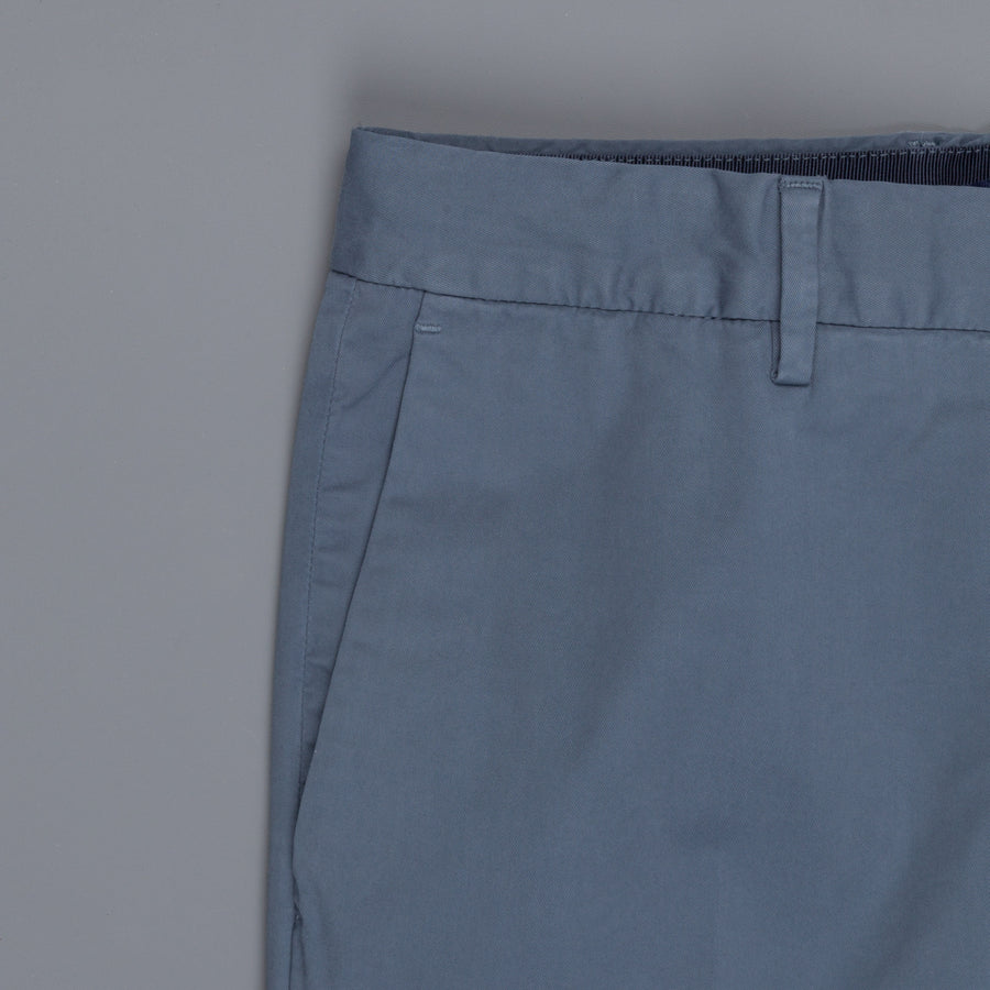 Incotex Venezia model 53 low rise carrot fit Blu Medio