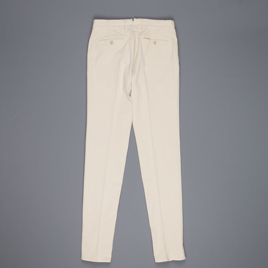 Incotex x Frans Boone exclusive Model 16 pants Bianco naturale