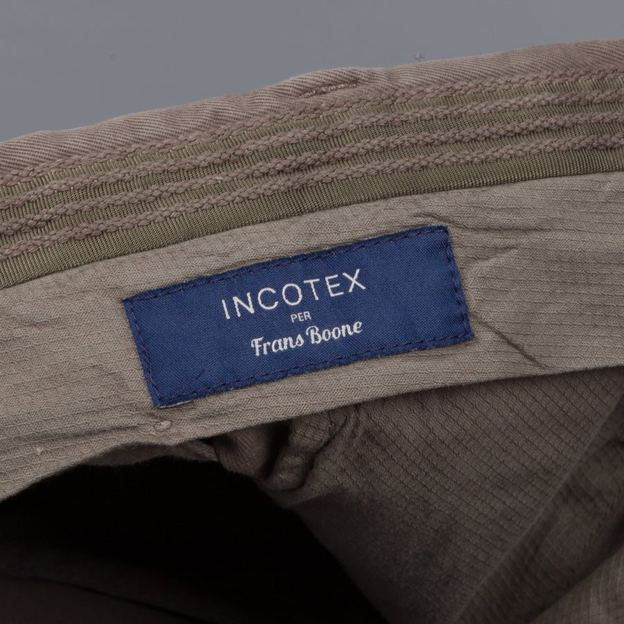 Incotex x Frans Boone exclusive Model 16 pants Grigio Chiaro