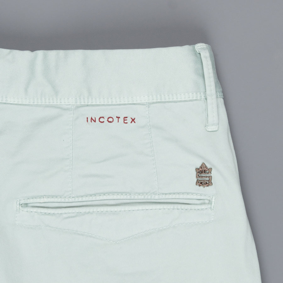 Incotex model 100 (former 603) slim fit pants Blu Azzuro