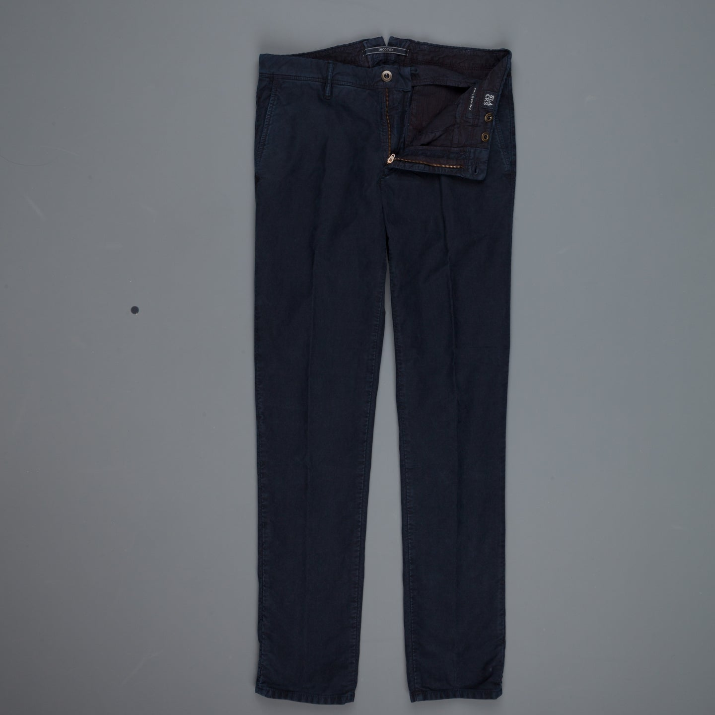 Incotex Slacks model 1ST603 Slim fit pants Blu