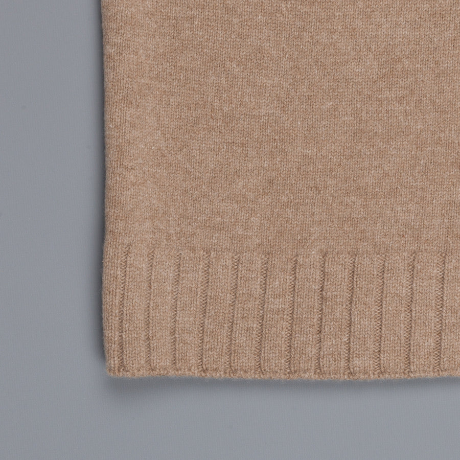 Inis Meáin loose turtle neck Camel