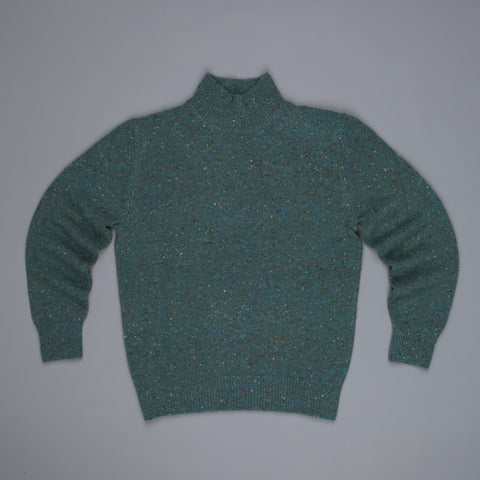 Inis Meáin x Frans Boone Store Special Donegal Turtleneck Periwinkle