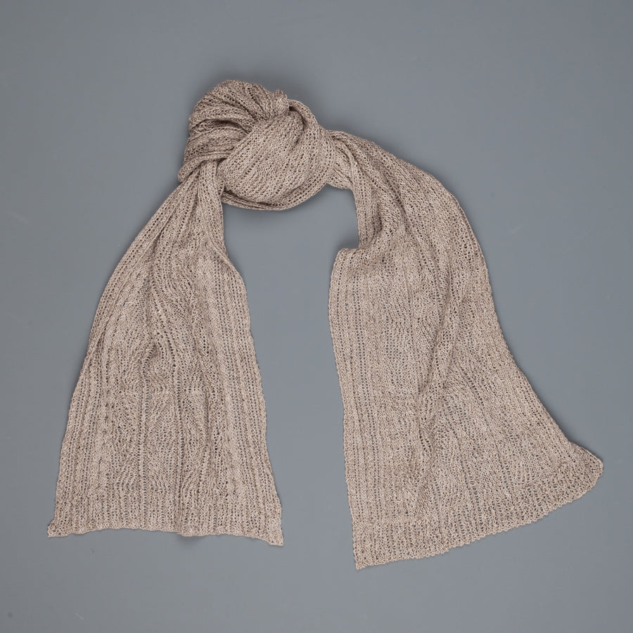 Inis Meáin patented linen Aran Scarf Dogfish
