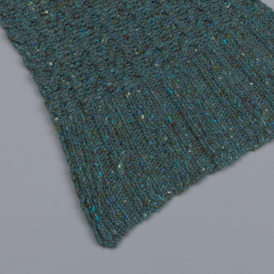 Inis Meáin Cable Scarf Periwinkle