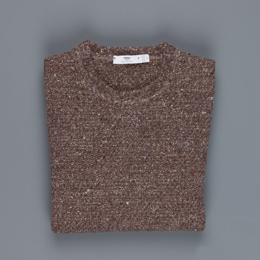 Inis Meáin x Frans Boone Store exclusive!  Moss Stitch Crew Neck Cork