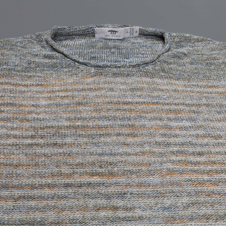 Inis Meáin x Frans Boone Linen Roll neck tunic striped