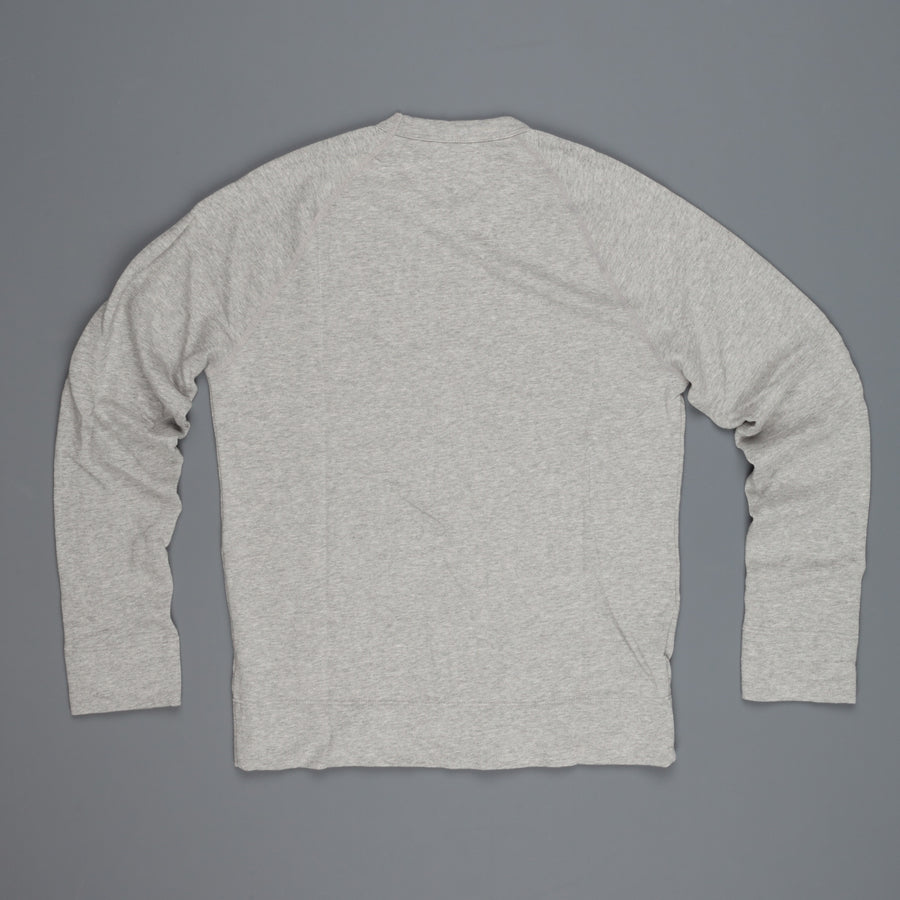 James Perse  Vintage Fleece raglan pullover heathergrey