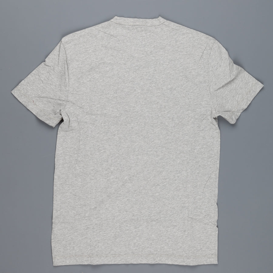 James Perse Short sleeved V neck tee heather grey