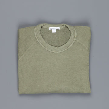 James Perse Vintage Fleece Raglan Sweat Avocado
