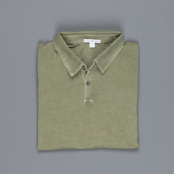 James Perse Revised Standard Polo Avocado