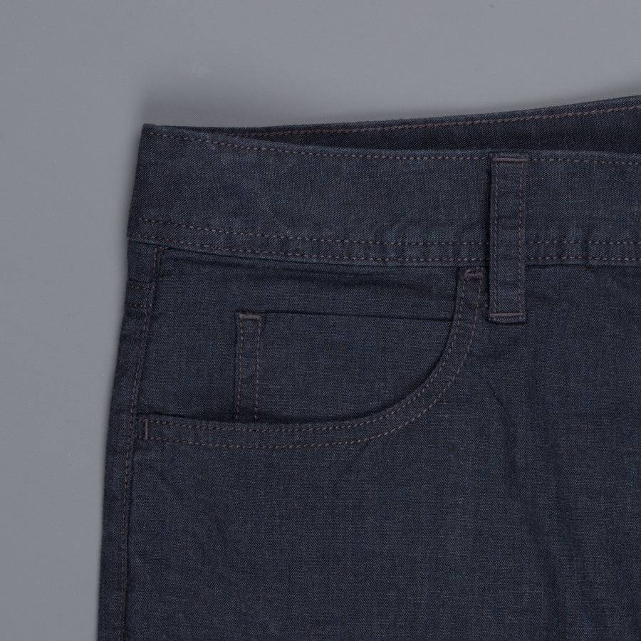 James Perse Clean 5-Pocket Pants Heather Navy