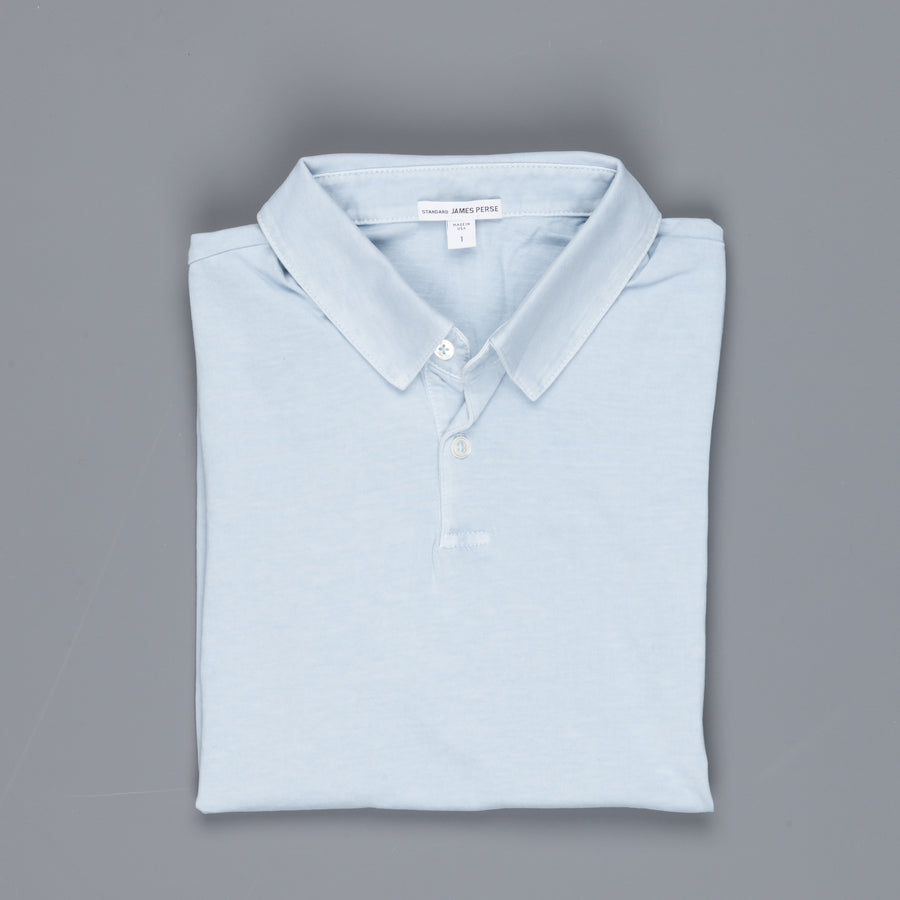 James Perse Revised Standard Polo Baby Blue