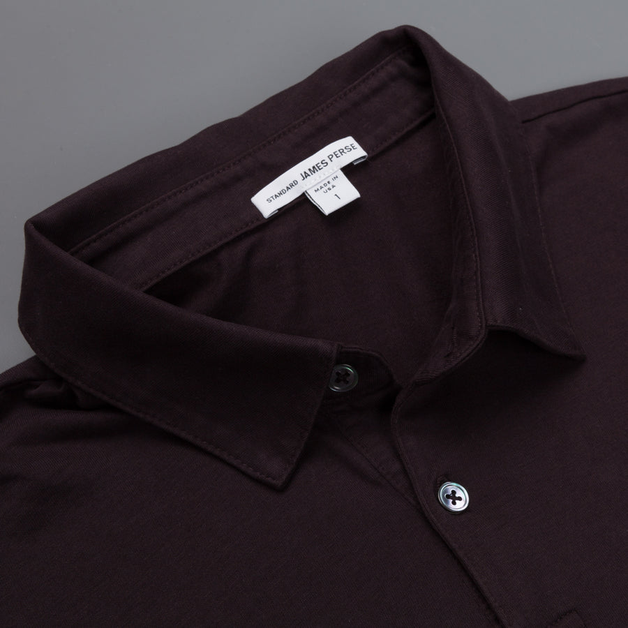 James Perse Revised Standard Polo Fig