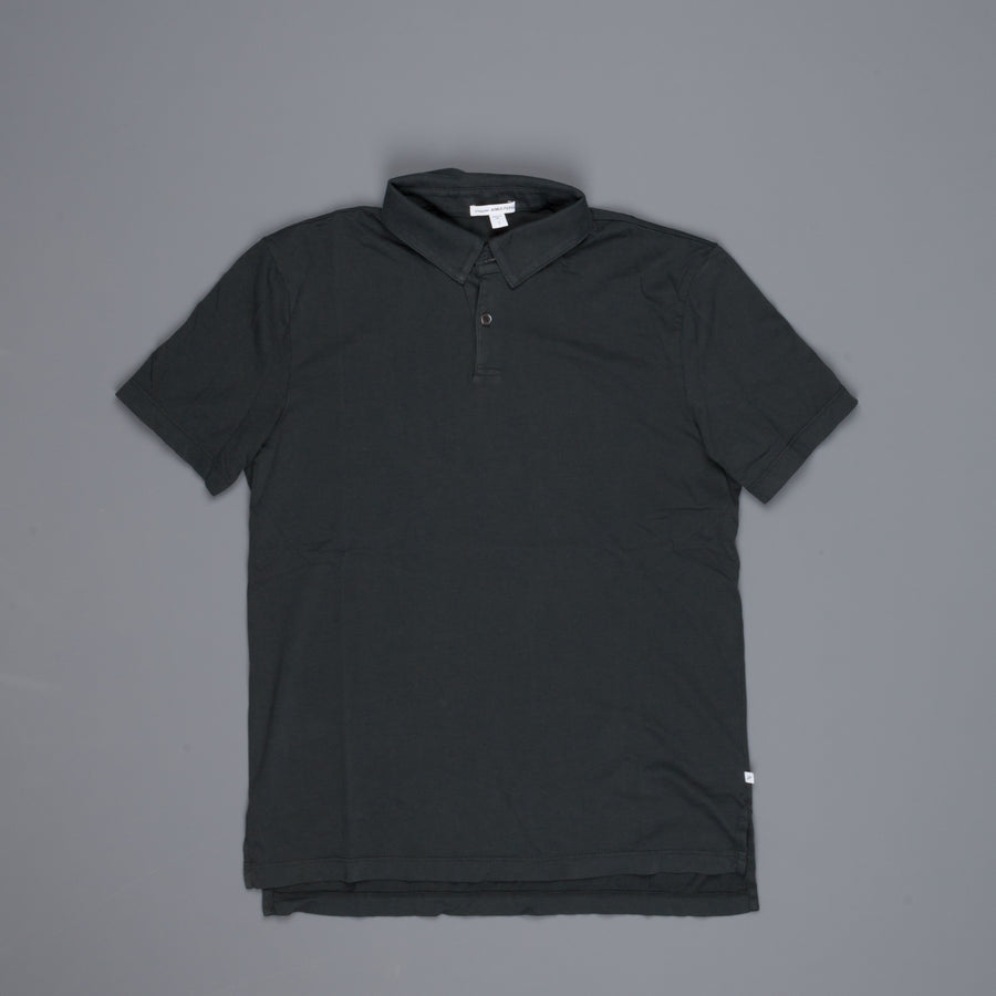 James Perse Revised standard polo Petrol Green