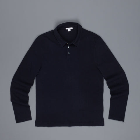 James Perse Heavy Jersey Rugby shirt French Navy