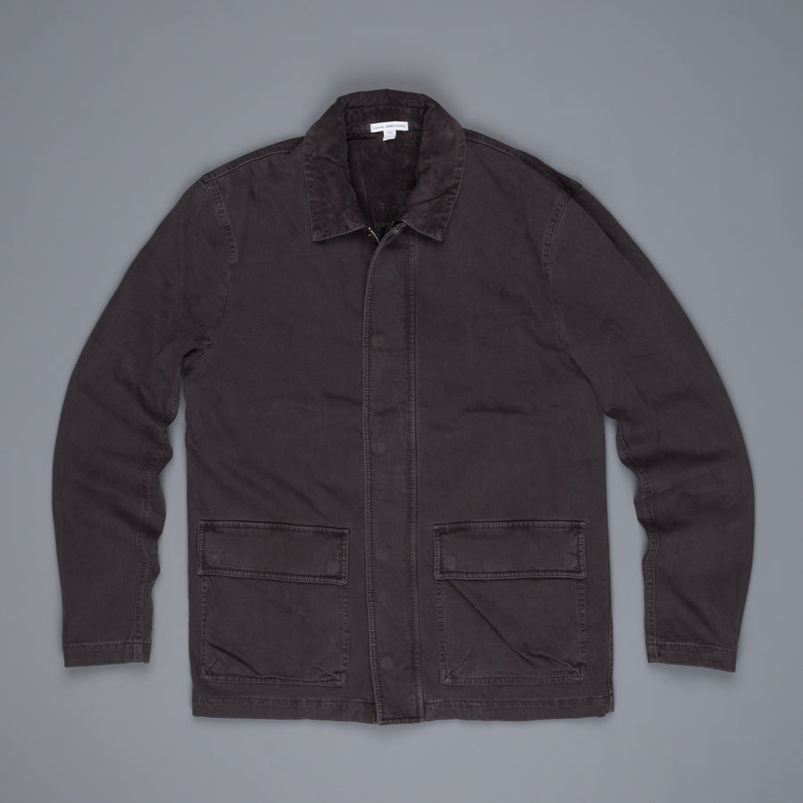James Perse Garment Dyed Field jacket Carbon