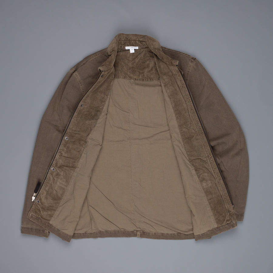 James Perse Garment Dyed Field jacket Army Green