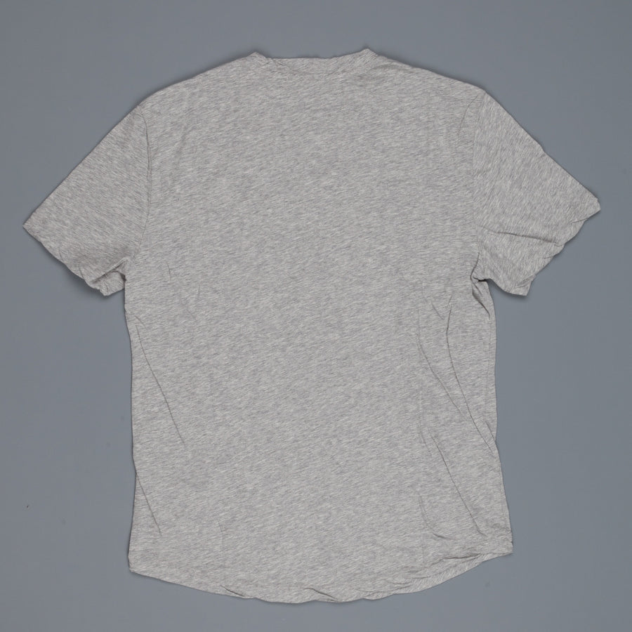 James Perse short sleeve V-neck heather grey