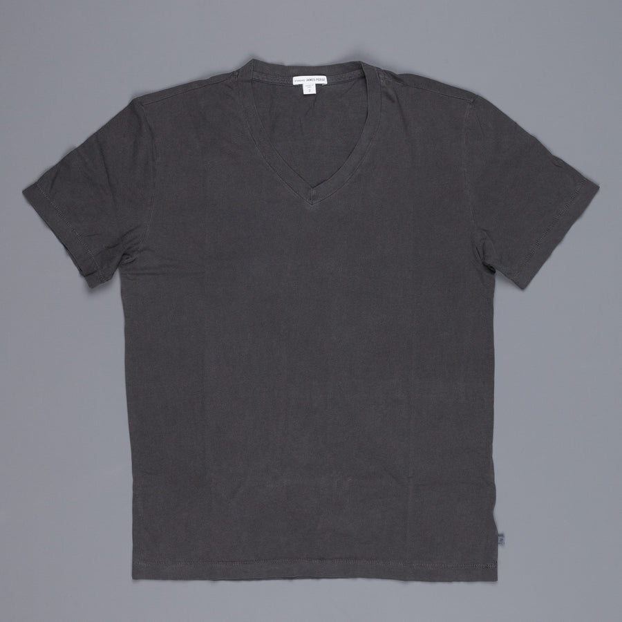James Perse V Neck Tee Carbon