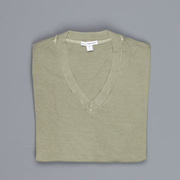 James Perse V neck tee Avocado Pigment