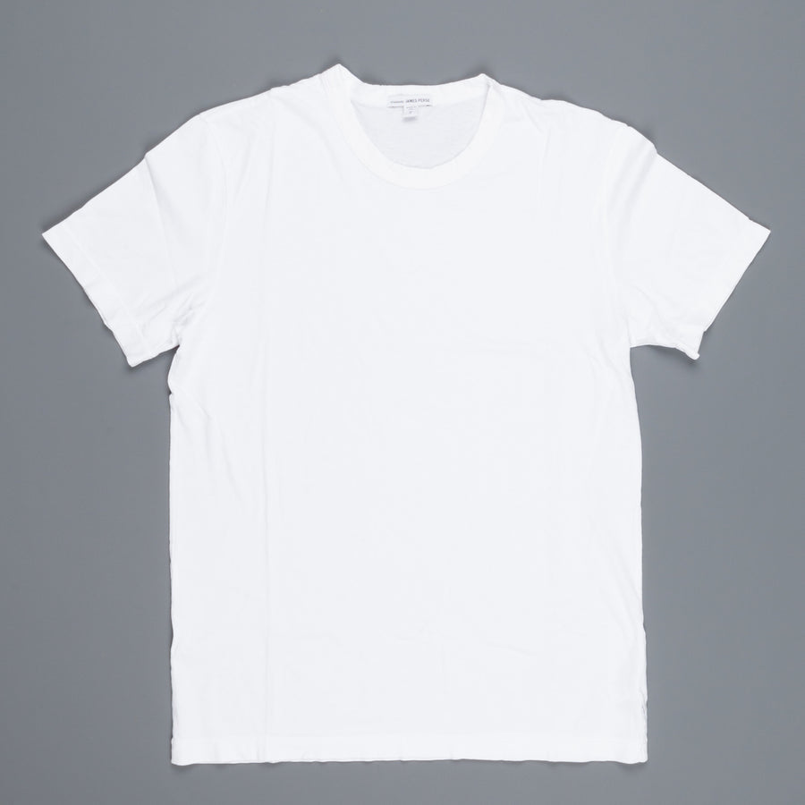 James Perse Crew neck tee white