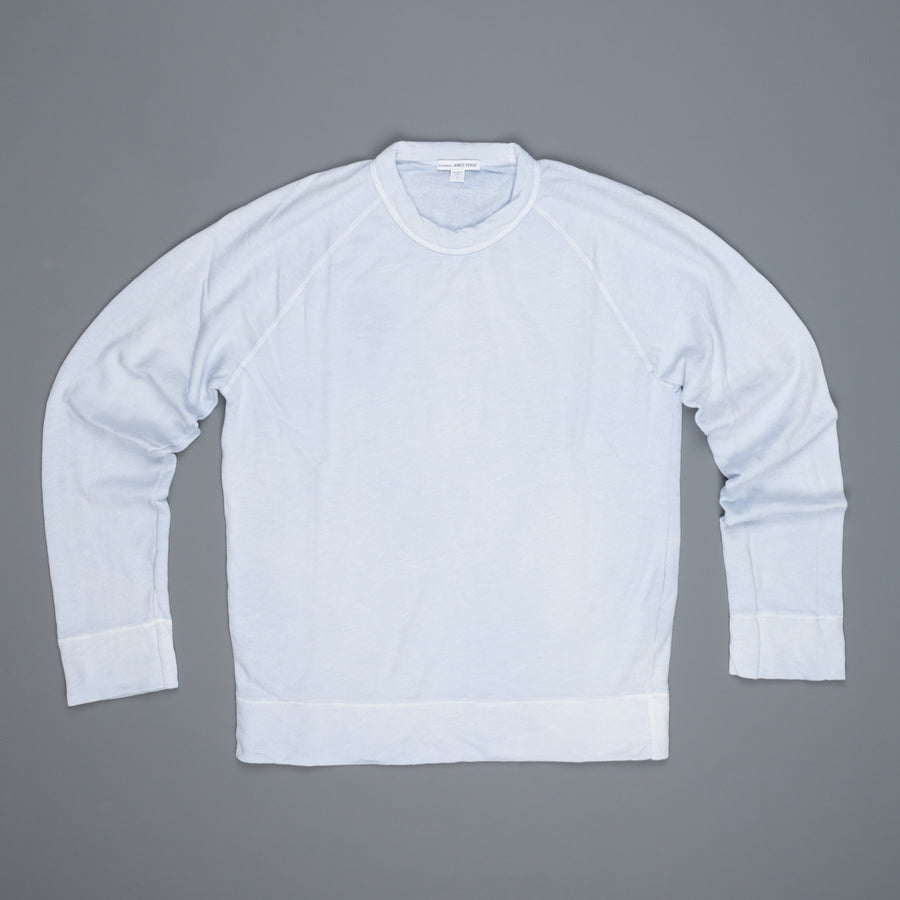 James Perse Vintage Fleece Raglan Pullover Memory