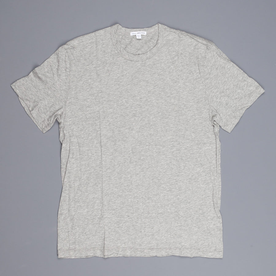 James Perse melange jersey ss crew neck tee heather grey