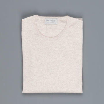 John Smedley Lundy Pullover CN LS Eastwood Beige
