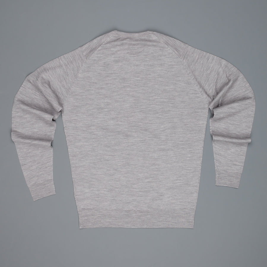 John Smedley Lundy Pullover CN LS Silver
