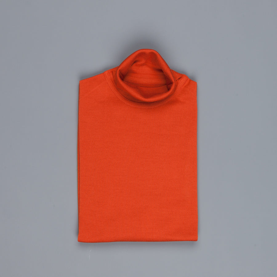 John Smedley Cherwell pullover roll neck Flare Orange