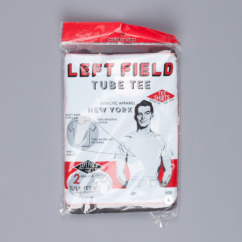 Leftfield NYC 2 pack tee Black