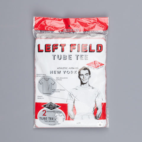 Leftfield NYC 2 pack tee Grey melange