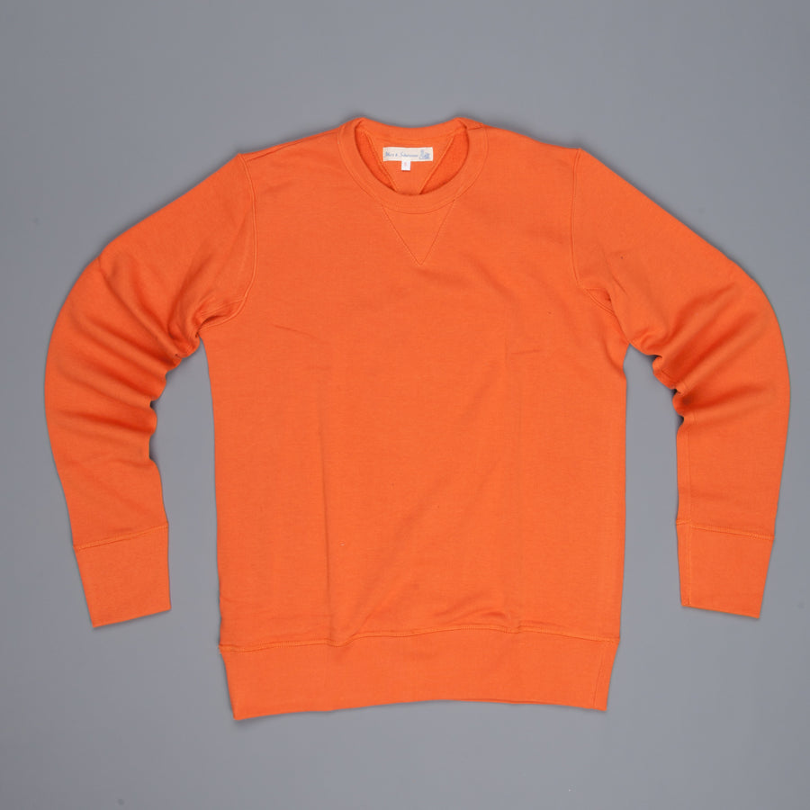 Merz B Schwanen 346 Fleece sweater rust