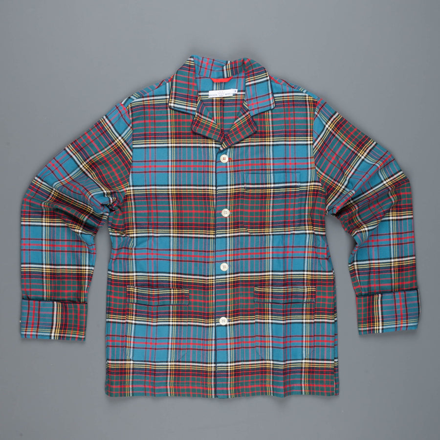 Maison Marcy Veste blue plaid