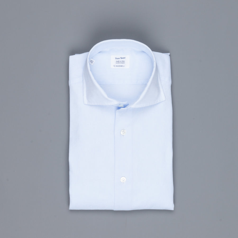 Mazzarelli soft leisure shirt Giro Inglese blue
