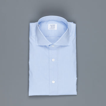 Mazzarelli x Frans Boone light blue shirt Erba