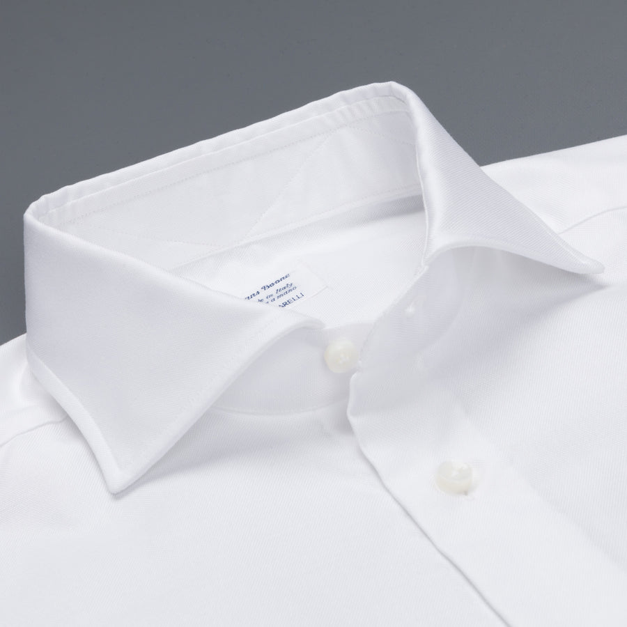 Frans Boone x Mazzarelli white oxford Shirt