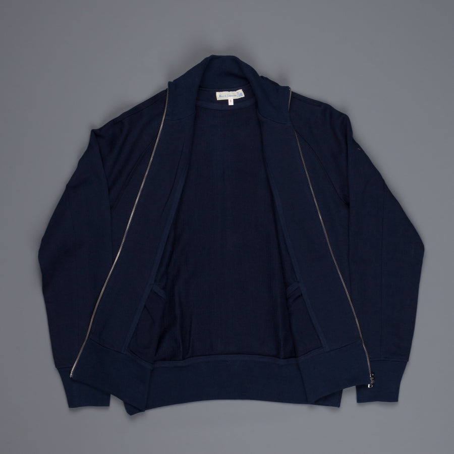 Merz b. Schwanen 3S81 Raglan Jacket in Ink Blue