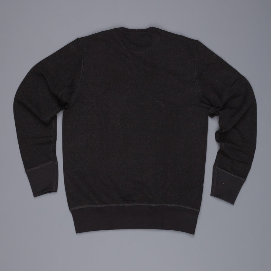 Merz B Schwanen 3w48 Wool/Cotton Black melange sweat