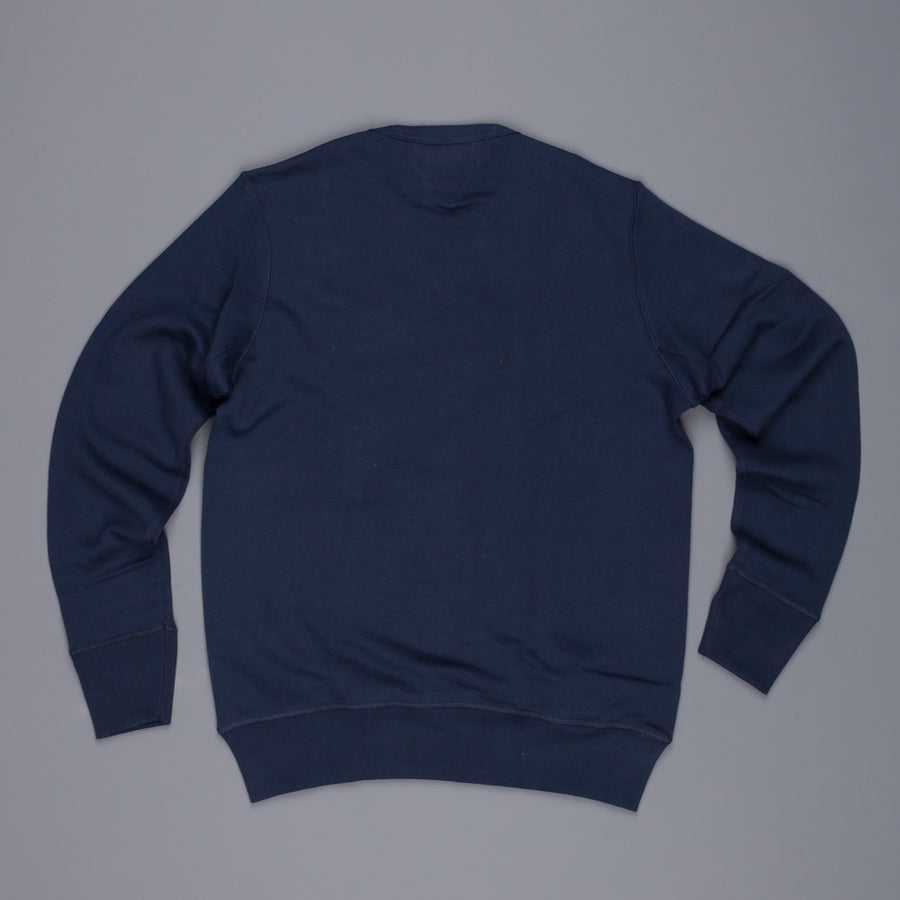Merz B Schwanen 3s48 Strong fleece sweater ink blue
