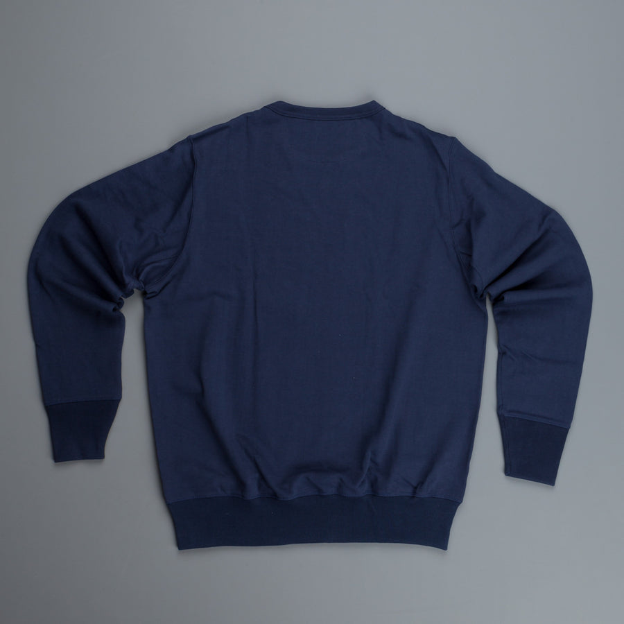 Merz B Schwanen 2S48 strong 2 thread sweat in Ink Blue