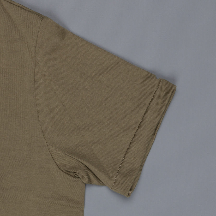 Merz B Schwanen 215 crew neck tee 2 thread Army