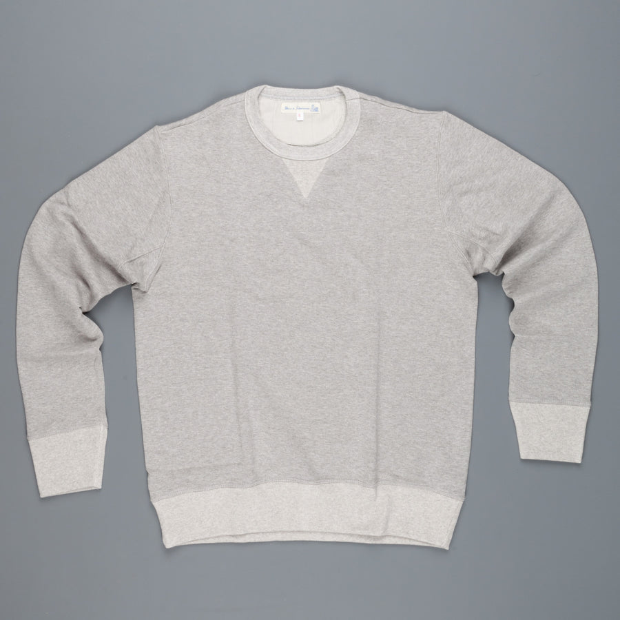 Merz B Schwaenen 3w48 Wool/Cotton Grey Melange sweat
