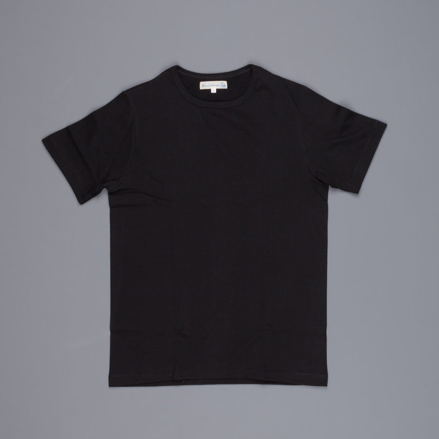 Merz B. Schwanen 215 t shirt 1/4 Open Sleeve Black