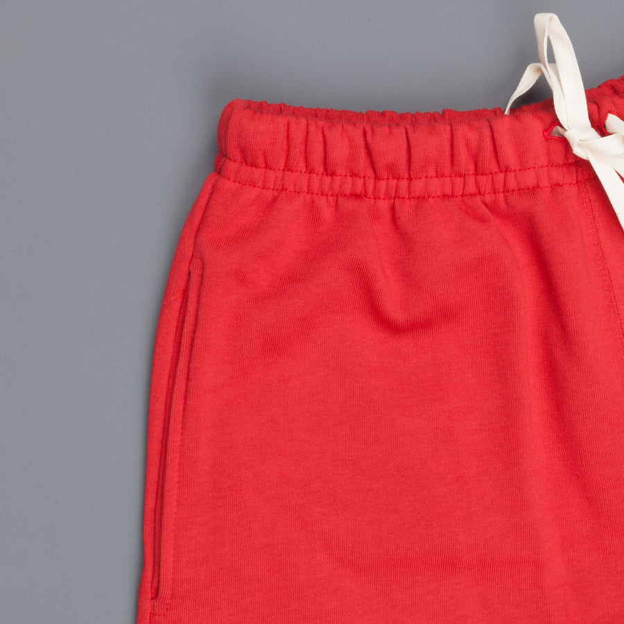 Merz B Schwanen 356 3 thread fleece sweatpants short 31 Red