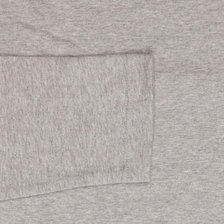 Merz b. Schwanen 212OS Crew Neck Oversized Shirt 1/1 slv. 2 Thread - Grey Melange