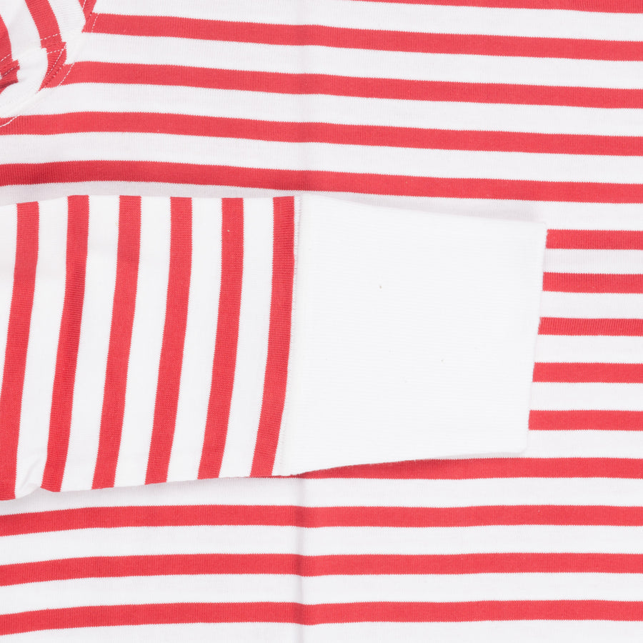 Merz B Schwanen 2M78 2 thread ls sweat striped red white