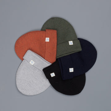 Merz B Schwanen Merino wool beanie in several colors