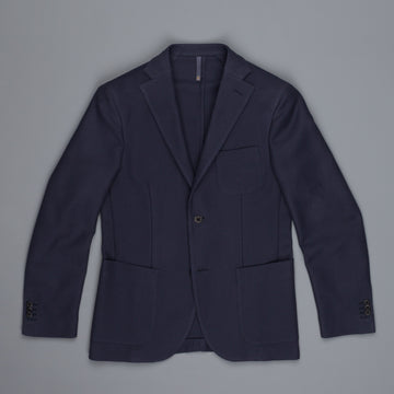 Montedoro Jacket Cotton Jersey navy